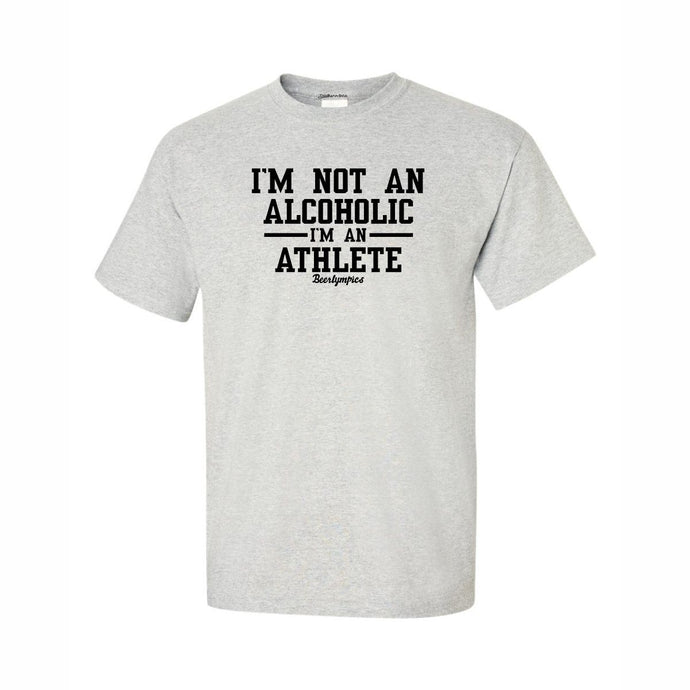 I'm Not An Alcoholic Novelty T Shirt Funny Gift For The Drinker In Your Life