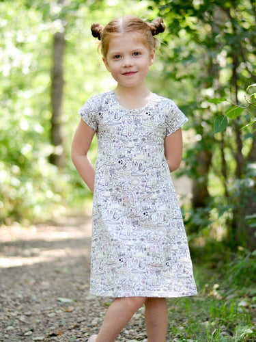 Clementine Dress (Kids 9m - 20, Doll 15