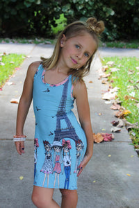 Firecracker Tunic/Dress/Maxi (Kids 9m - 14)