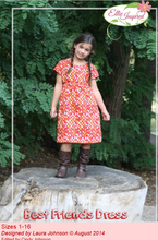 Best Friends Dress by Ellie Inspired (Girls 1 - 16)
