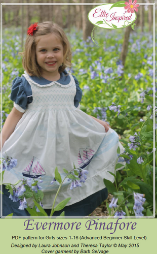 Evermore Pinafore by Ellie Inspired (Girls 1 - 16)