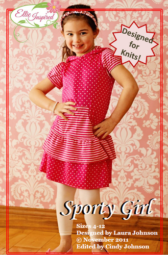 Sporty Girl by Ellie Inspired (Girls 4 - 12)