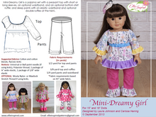 "Dreamy Girl by Ellie Inspired (Doll 15"" & 18"")"