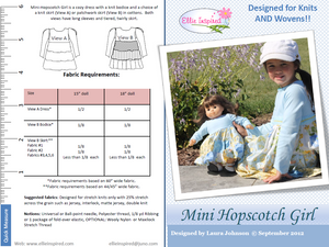 "Hopscotch by Ellie Inspired (Doll 15"" & 18"")"