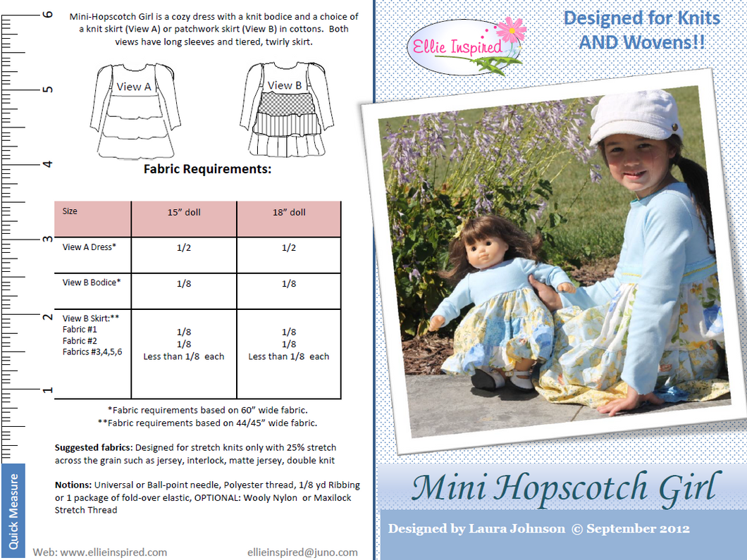 Hopscotch by Ellie Inspired (Doll 15