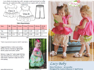 Lucy Baby by Ellie Inspired (Baby NB - 36mo)