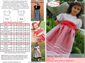 Miss Merry by Ellie Inspired (Girls 1 - 16)