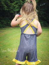 Firecracker Romper (Add-on Pattern)