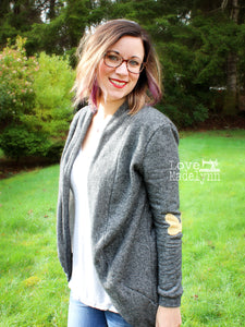 Coffee & Tea Cardigan - Women & Women Plus (0 - 20 & 14W - 40W)