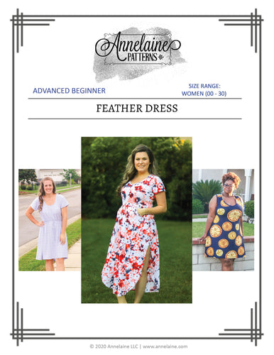 Feather Dress (Women 00 - 30)