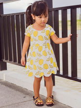 Tangerine Dress (Kids 9m - 20)