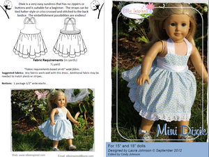 "Dixie by Ellie Inspired (Doll 15"" & 18"")"
