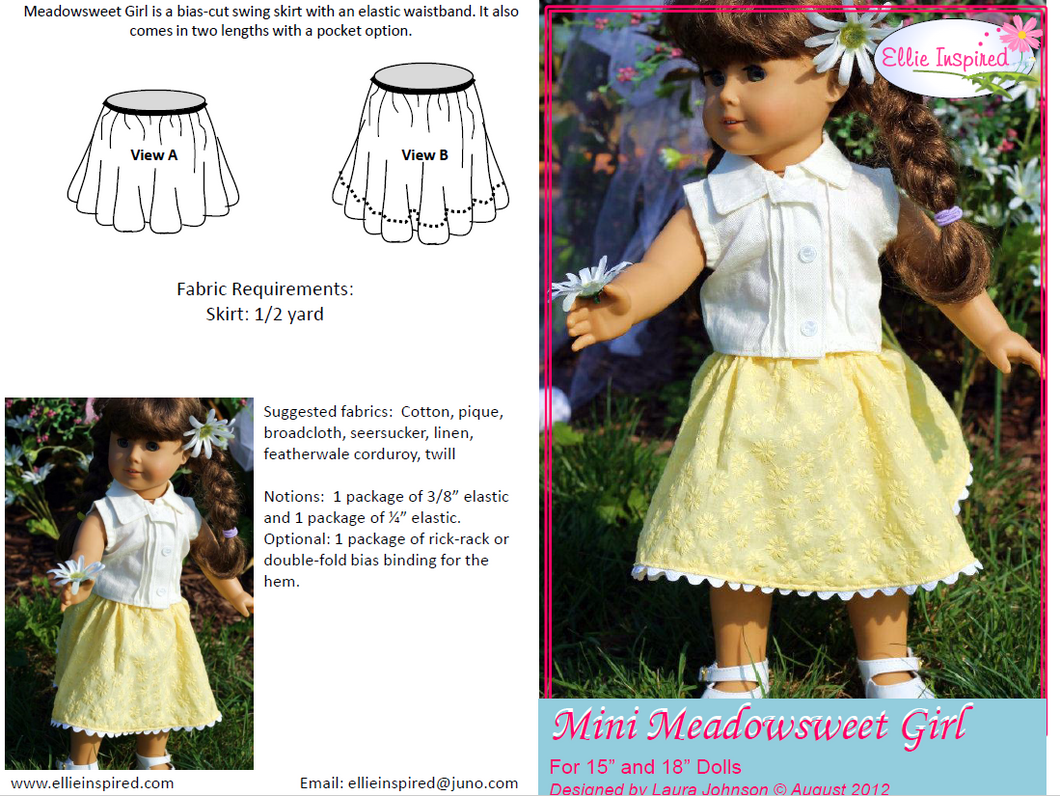 Meadowsweet by Ellie Inspired (Doll 15