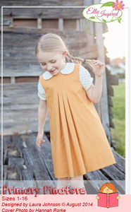 Primary Pinafore by Ellie Inspired (Girls 1 - 16)