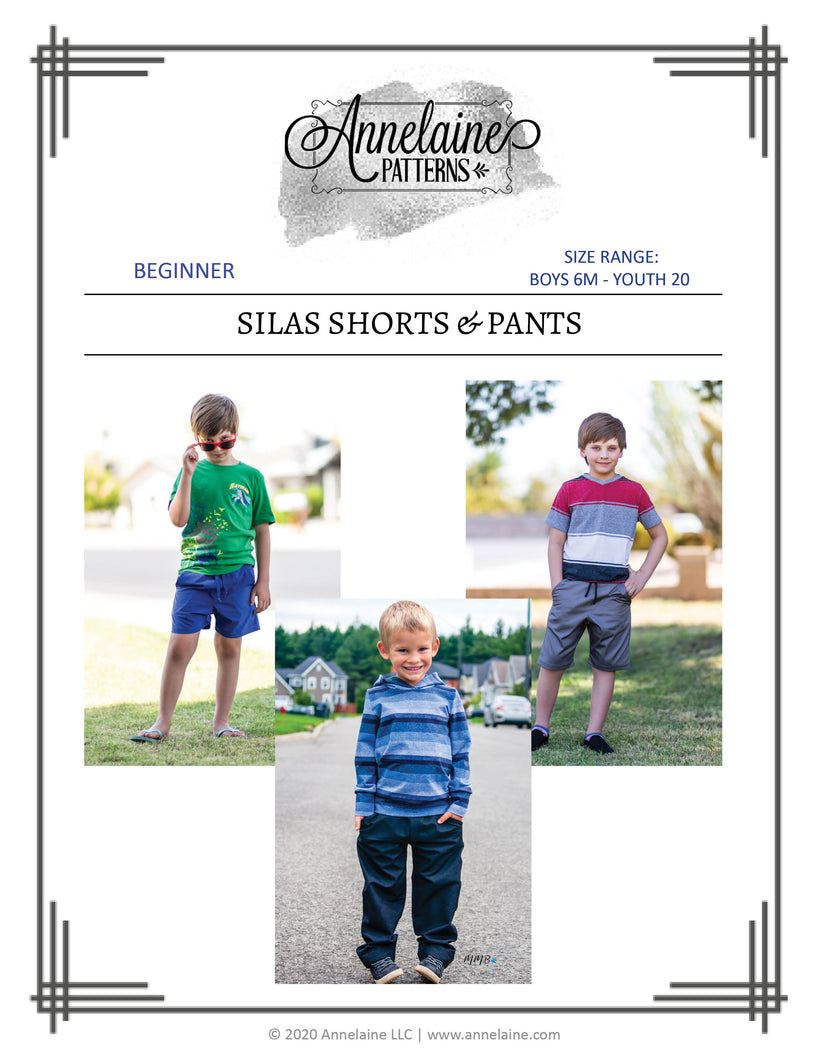 Silas Shorts & Pants (Boys 6m - Youth 20)