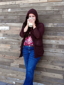 Coffee & Tea Cardigan - Women Plus (14W - 40W)
