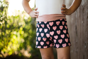 girls knit shorts pattern