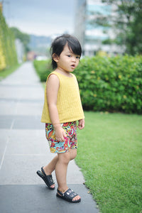 girls sewing shorts pattern