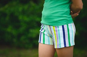 girls shorts pattern