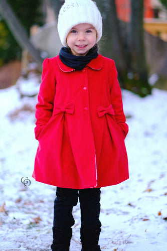 Lilly Pea Coat (Girls 2T - 20)