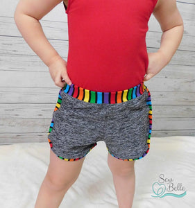 Triple Playtime Shorts (9m - 14)