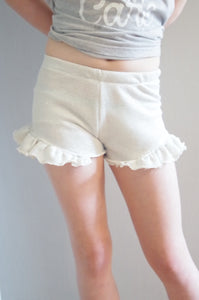 ruffle shorts sewing pattern