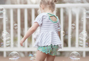ruffle shorts pdf pattern