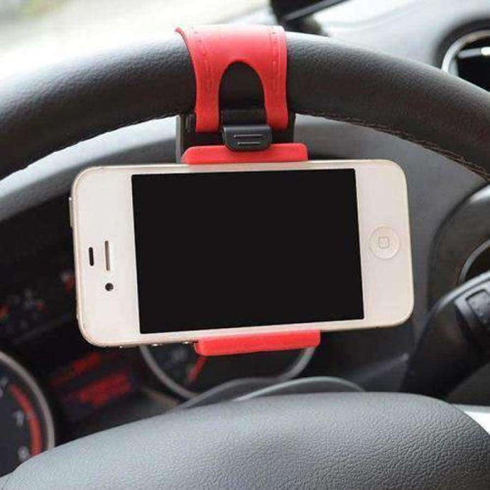 Auto Car Steering Wheel Mount Holder