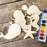 Load image into Gallery viewer, Mermaid painting kit