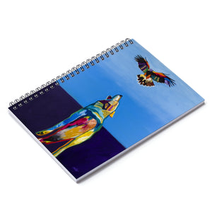 Raven Tag Spiral Notebook - Ruled Line