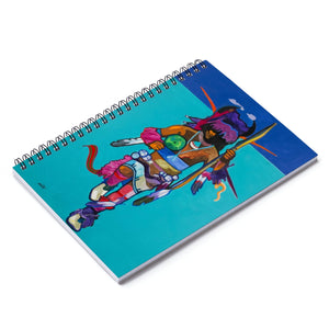 Buffalo Dancer Spiral Notebook - Ruled Line