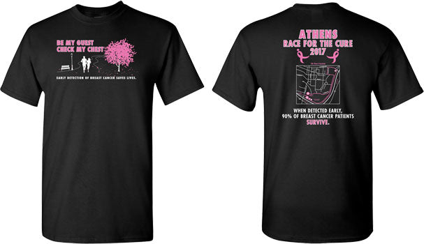 Susan G. Komen - Custom Team Shirts