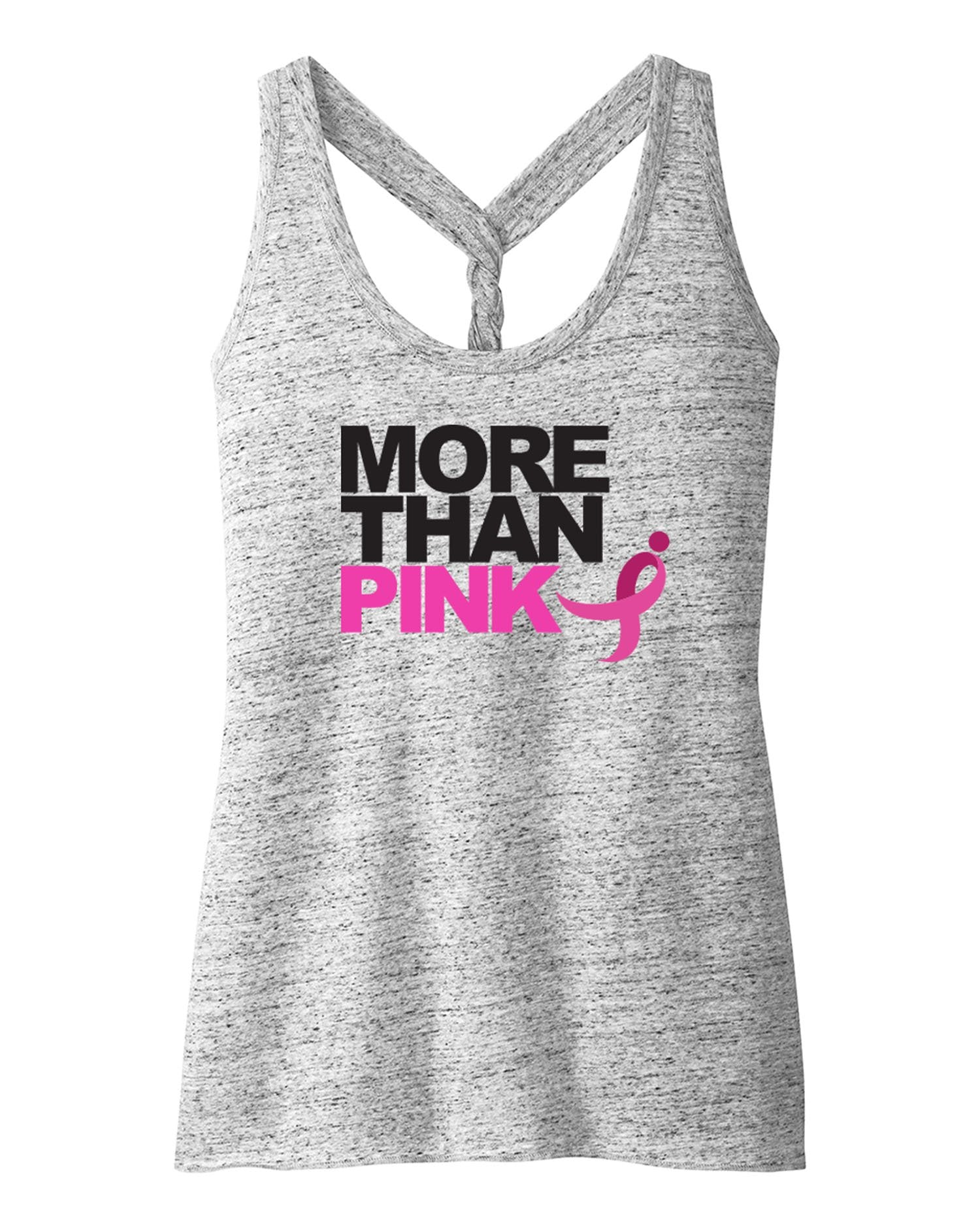 "Cosmic Twist Tank, ""More Than Pink"""