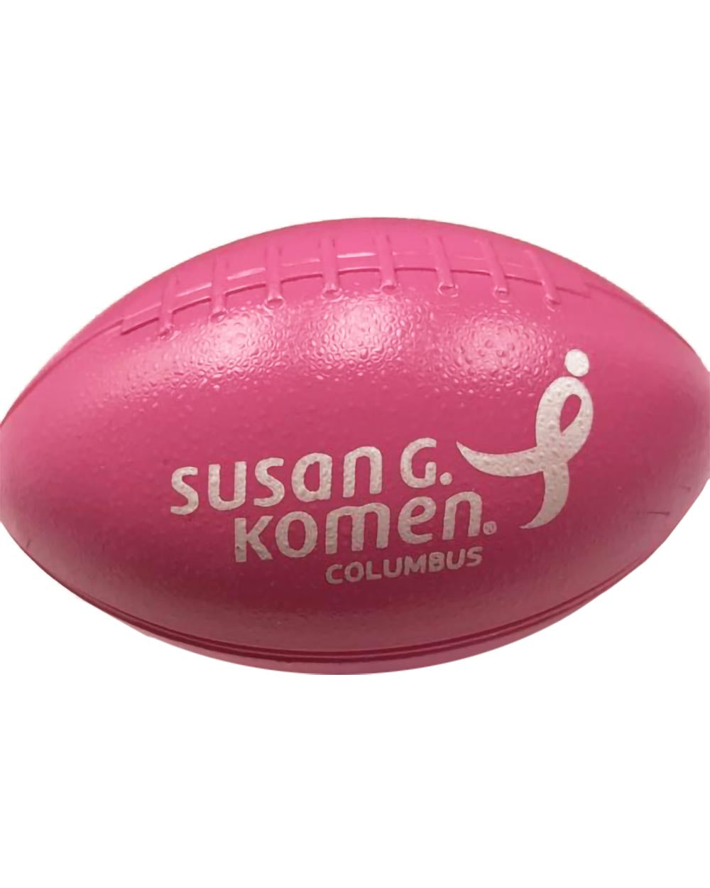 Mini Pink Plastic Football