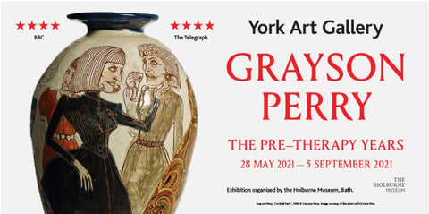 Grayson Perry Pre-Therapy Years York Art Gallery Matthew R Lewis Portrait