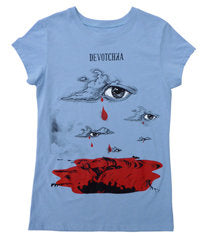 Apparel: Women's Blue Eye T-Shirt