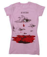 Apparel: Women's Pink Eye T-Shirt