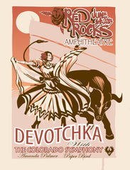 Poster: Red Rocks 2013 with The Colorado Symphony