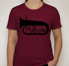 Apparel: DeVotchKa Women's Cranberry Tuba T