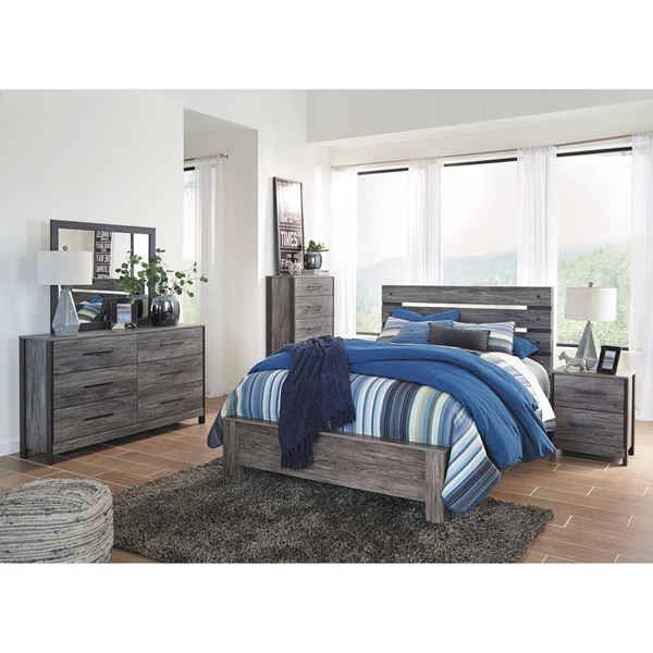 CAZENFELD 5 PIECE BEDROOM SET