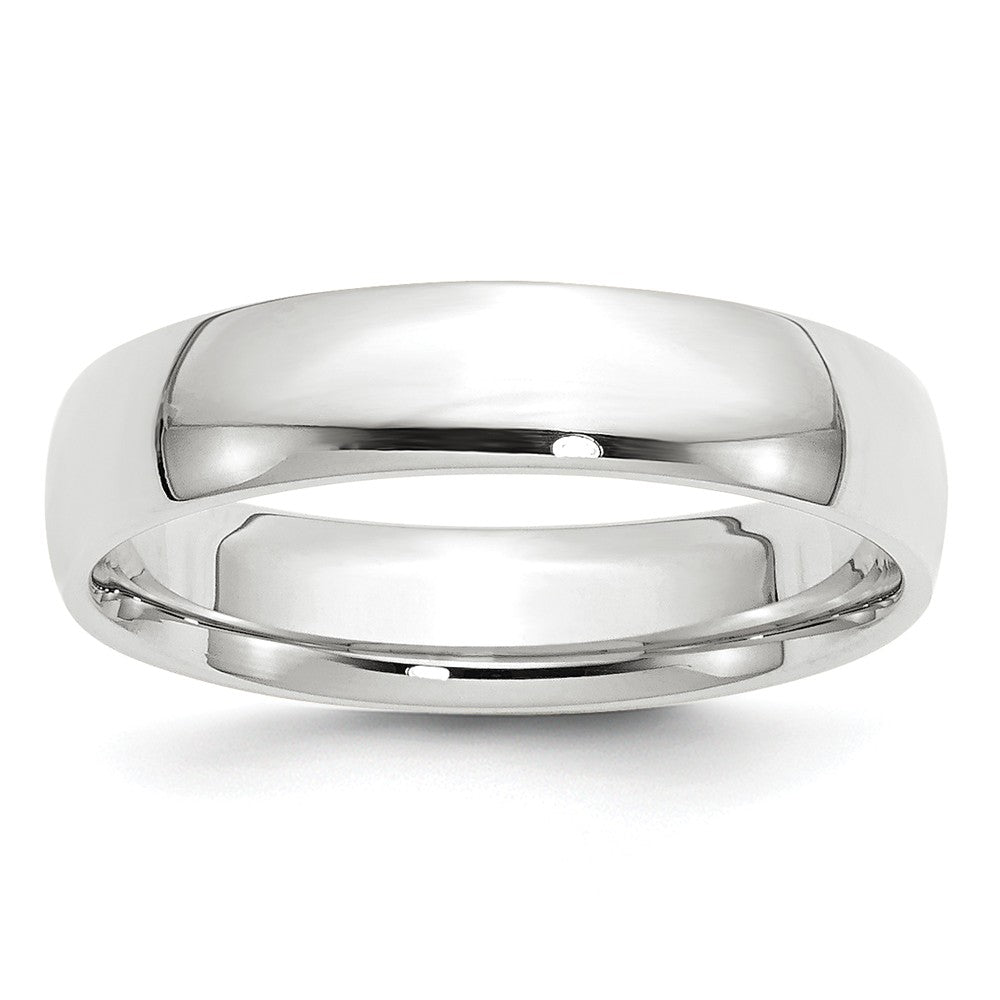 Luxury Diamonds Vancouver 5mm Comfort Fit Lightweight Wedding Ring Band For Men