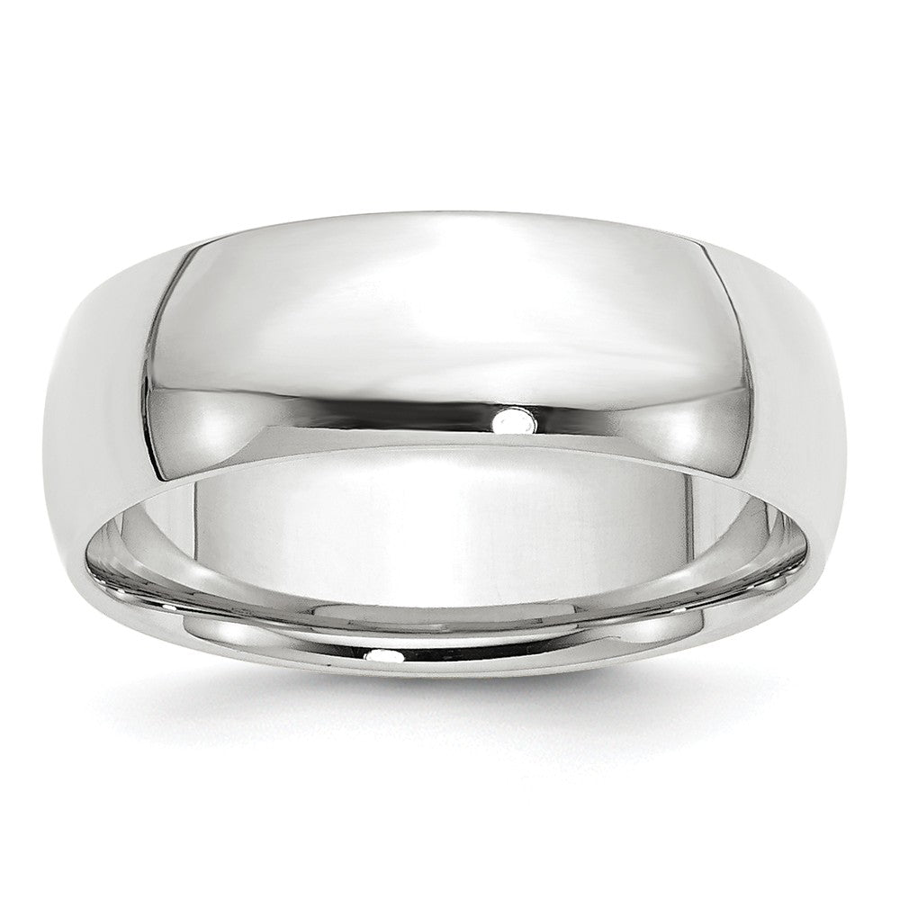 Luxury Diamonds Vancouver 7mm Comfort Fit Lightweight Wedding Ring Band For Men