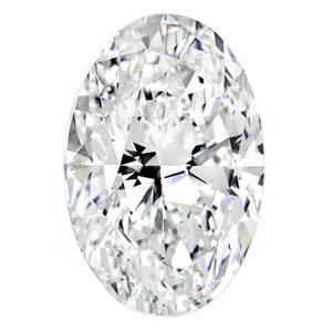 1.90 Carat Oval Diamond I Color SI2 Clarity