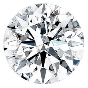 0.90 Carat Round Diamond D Color SI1 Clarity