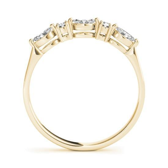 Luxury Diamonds Vancouver Baguette Fancy Shape Wedding Ring Band For Women