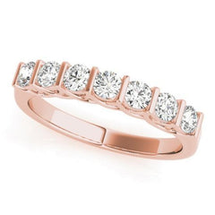 Luxury Diamonds Vancouver Bar Set Wedding Ring Band For Women