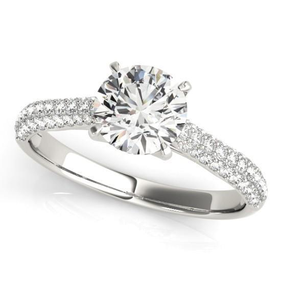 Luxury Diamonds Vancouver Multi Band Diamond Engagement Ring