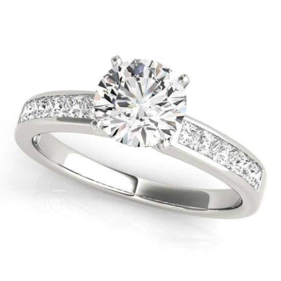 Luxury Diamonds Vancouver Princess Cut Unique Fancy Shape Diamond Engagement Ring