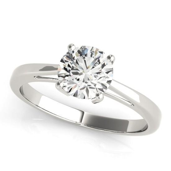 Luxury Diamonds Vancouver Round Cut  Solitaire Diamond Engagement Ring
