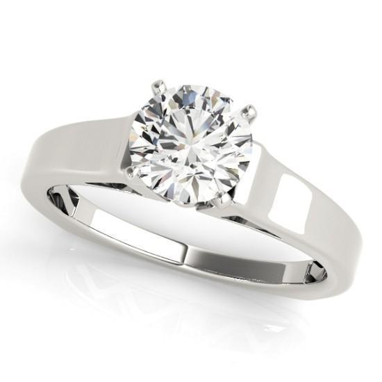 Luxury Diamonds Vancouver  Solitaire Diamond Engagement Ring
